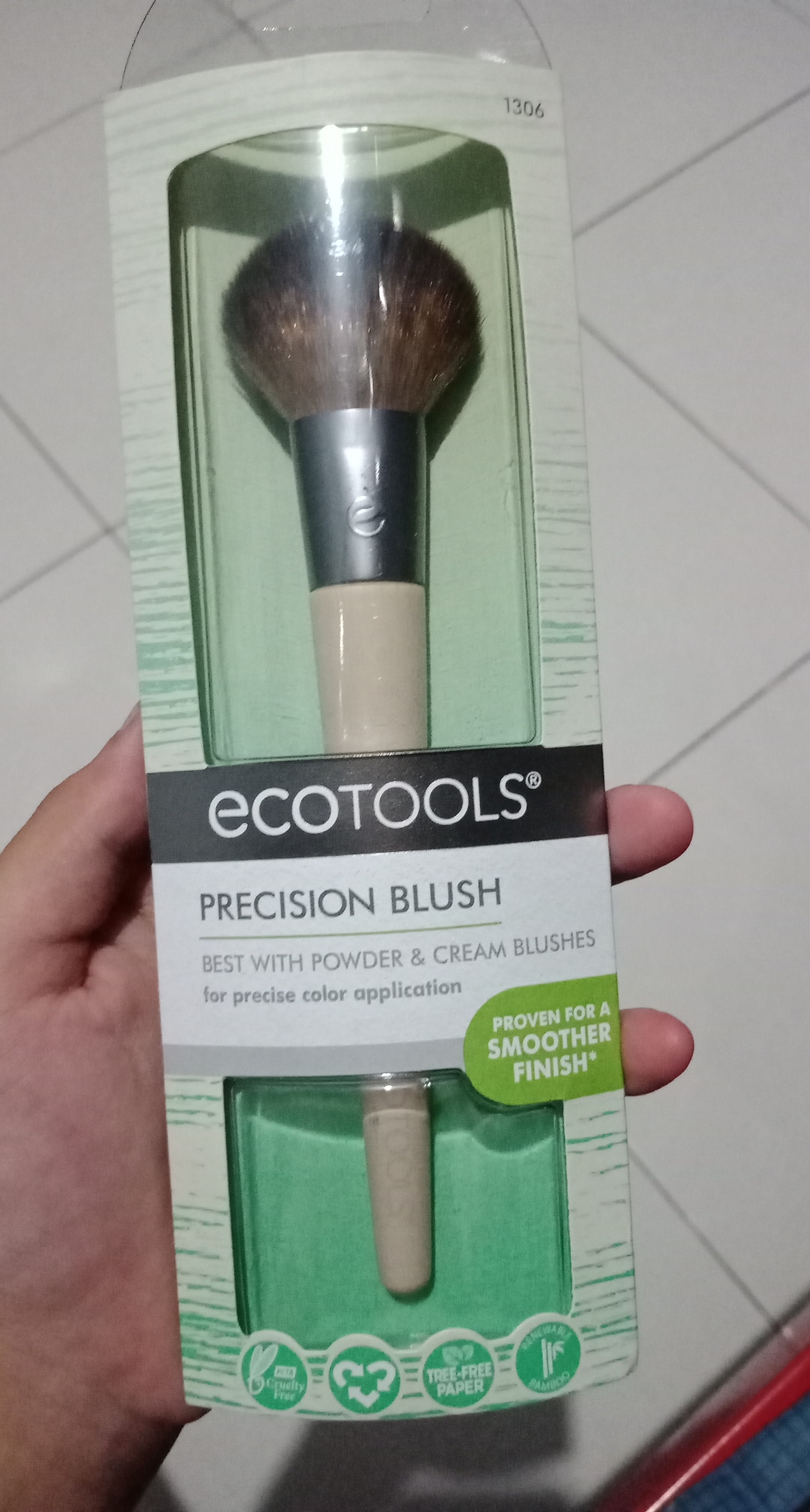 Ecotools 1306 Precision Blush Brush
