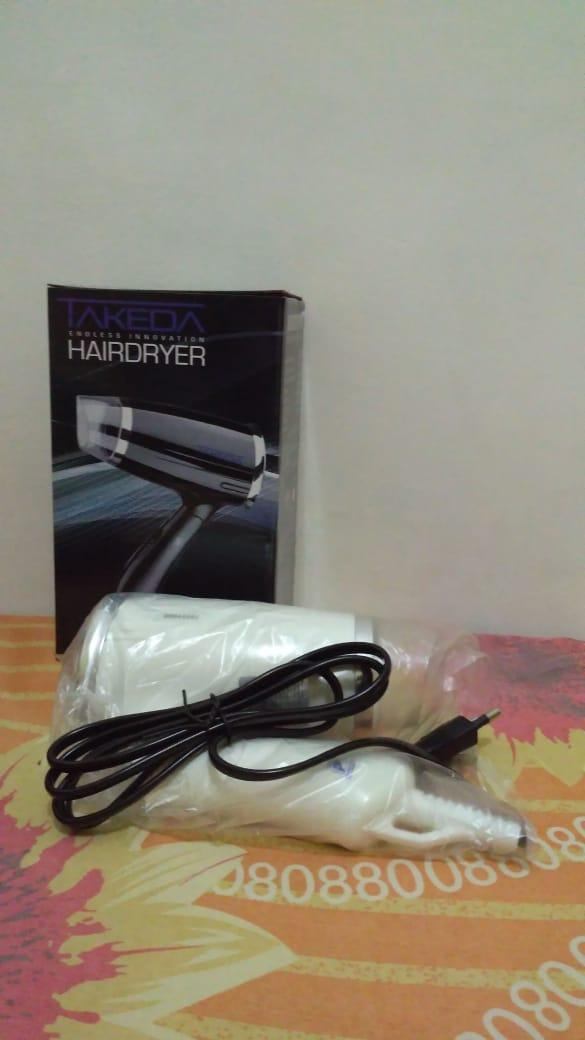 Takeda Hair Dryer Compact 350W White TKD-3072CW