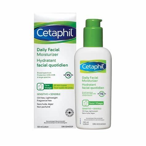 Cetaphil Daily Facial Moisturizer Lotion Spf15 118 ml