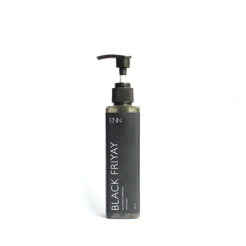ENN Black Friyay Activated Charcoal Face Wash