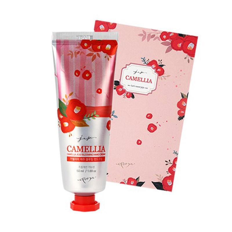 Epona  Camellia Jeju Blooming Hand Cream