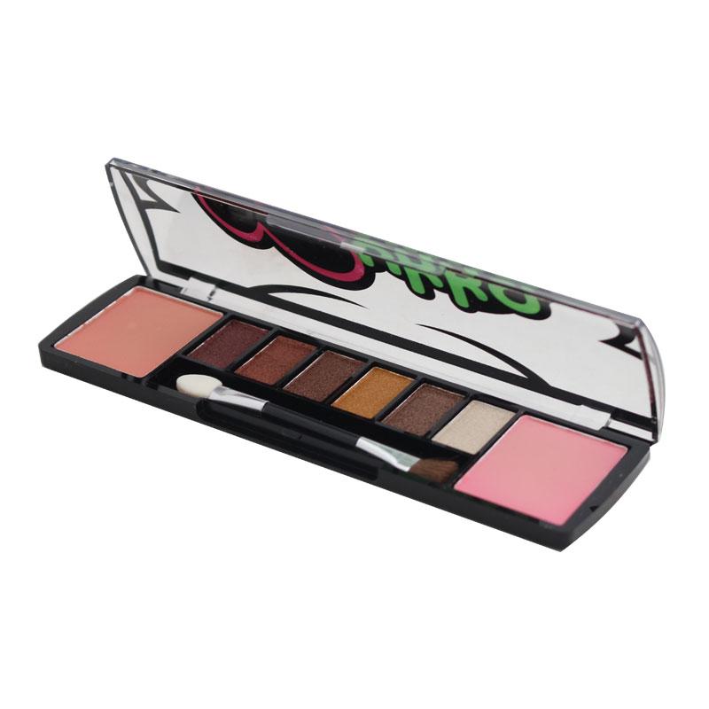 Mukka Cosmetics 6 Colors Eyeshadow 2 Blusher