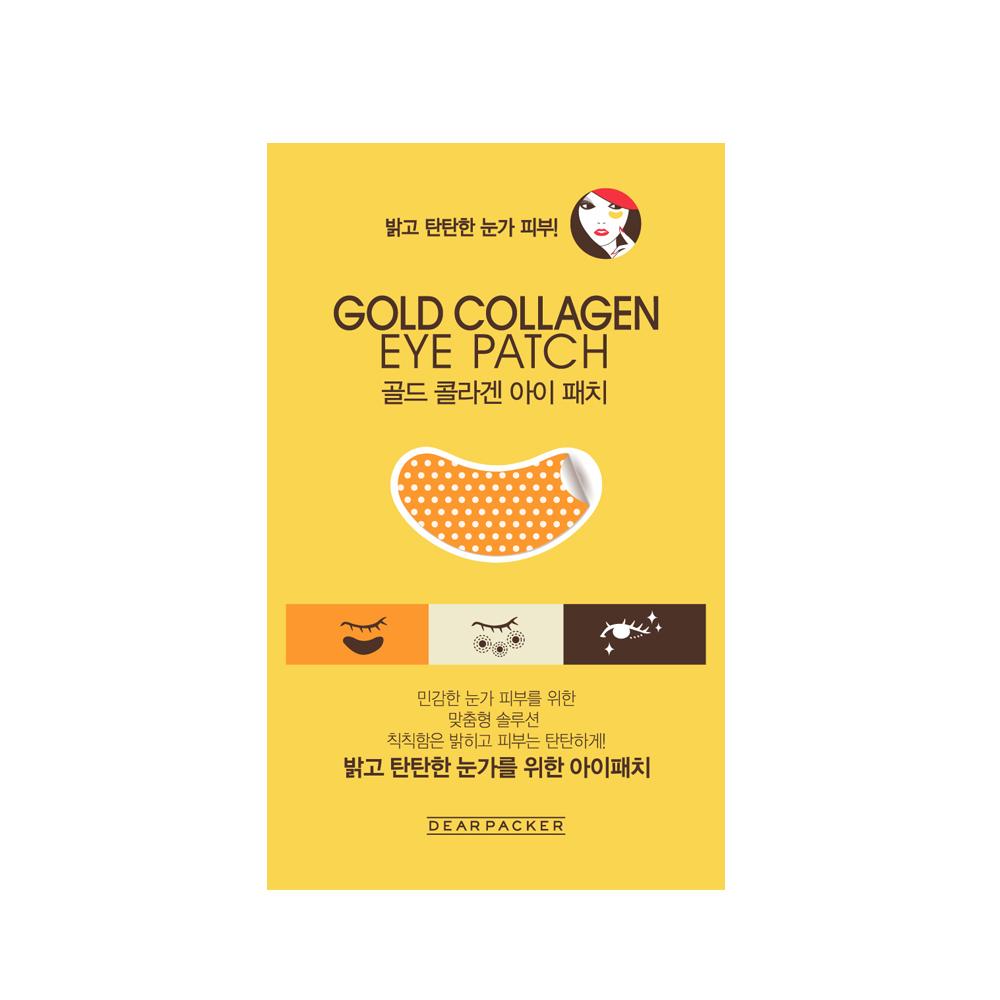 Dearpacker Gold Collagen Eye Patch
