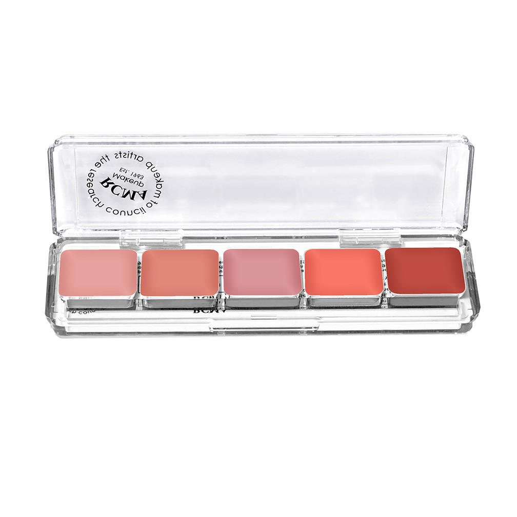 RCMA Makeup Cream Blush 5 Part Palette