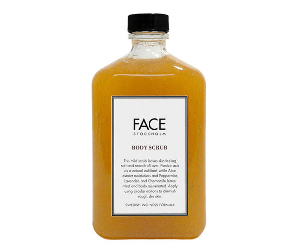 Face Stockholm  Swedish Wellness Body Scrub