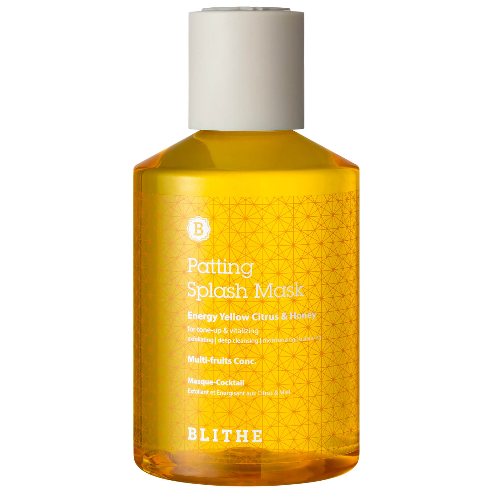 BLITHE Patting Splash Mask Energy Yellow Citrus & Honey