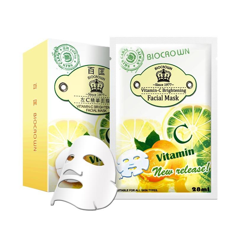 Biocrown Vitamin-C Brightening Facial Mask