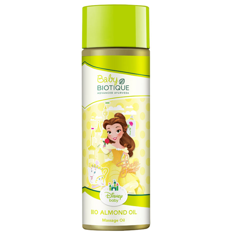 Biotique Disney Baby Belle Bio Almond Massage Oil