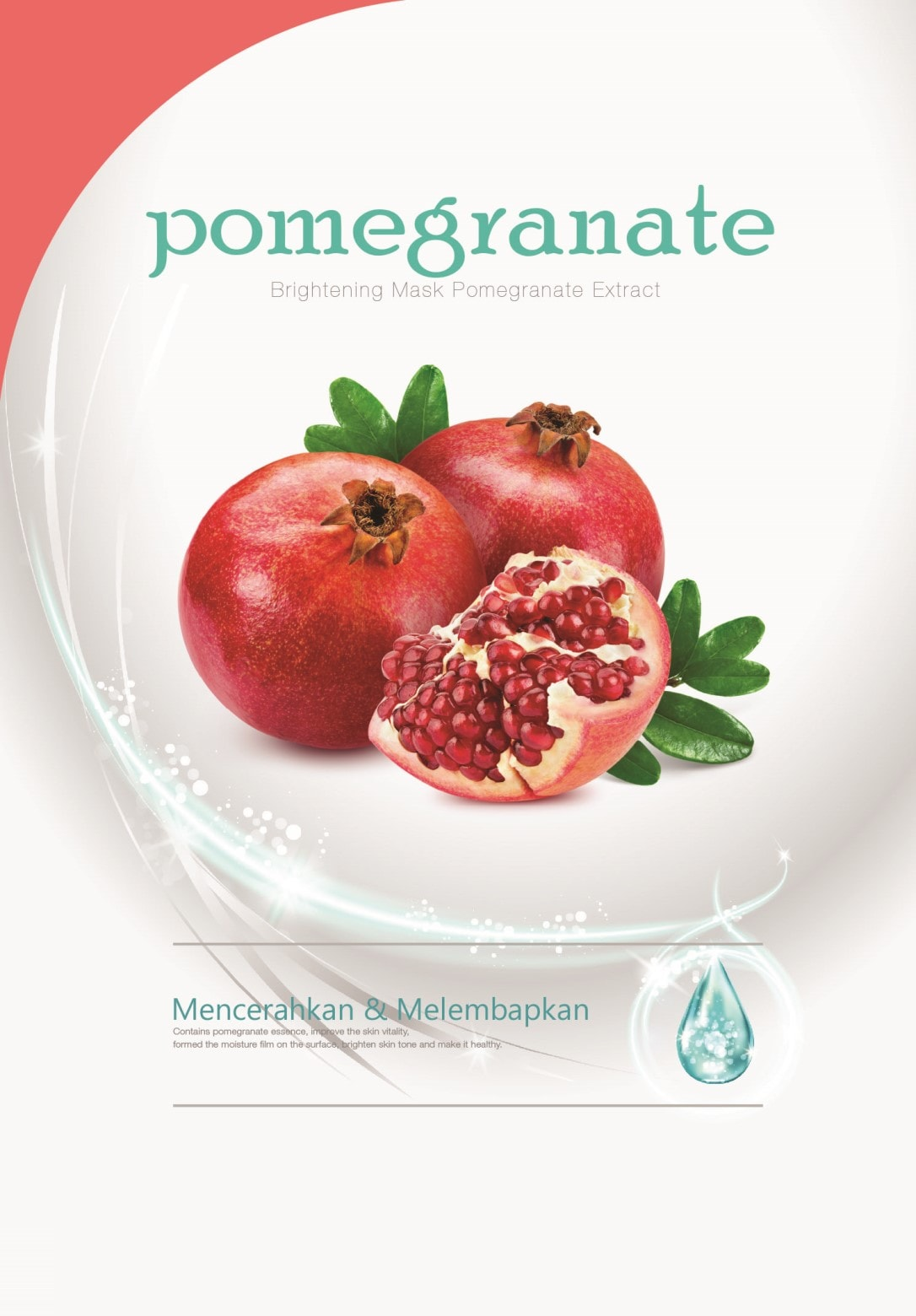 SK7 Brightening Mask Pomegranate Extract