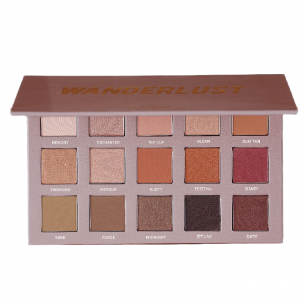 Breena Beauty Wanderlust Eyeshadow Palette