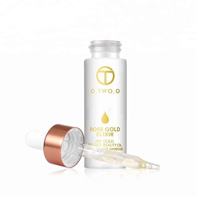 O Two O Rose Gold Elixir 24 K Gold Infused Beauty Oil