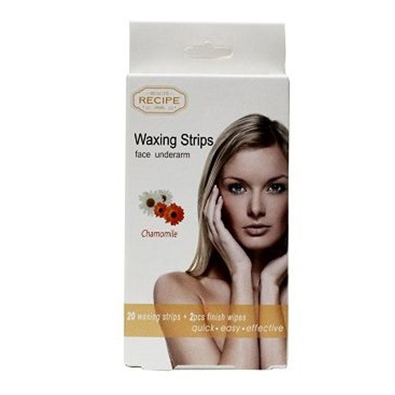 Face Recipe Face Underarm Waxing Strips