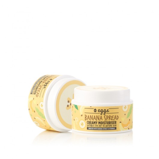 By Eggs Banana Spread Soothing Moisturiser