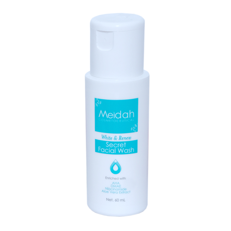 Meidah Facial Wash White and Renew Secret