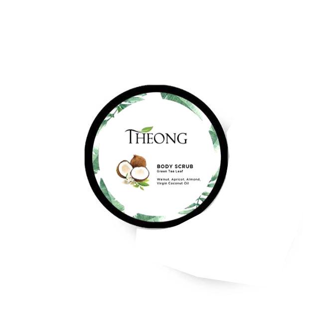 Theong Spa Body Scrub Green Tea Leaf