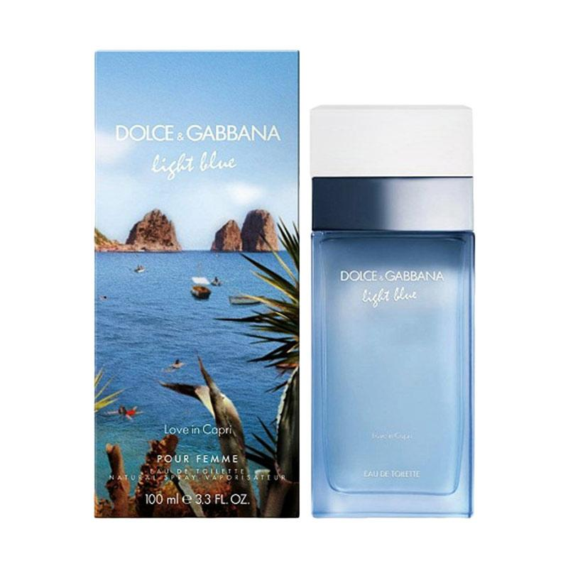 Dolce and Gabbana Light Blue Love in Capri Women