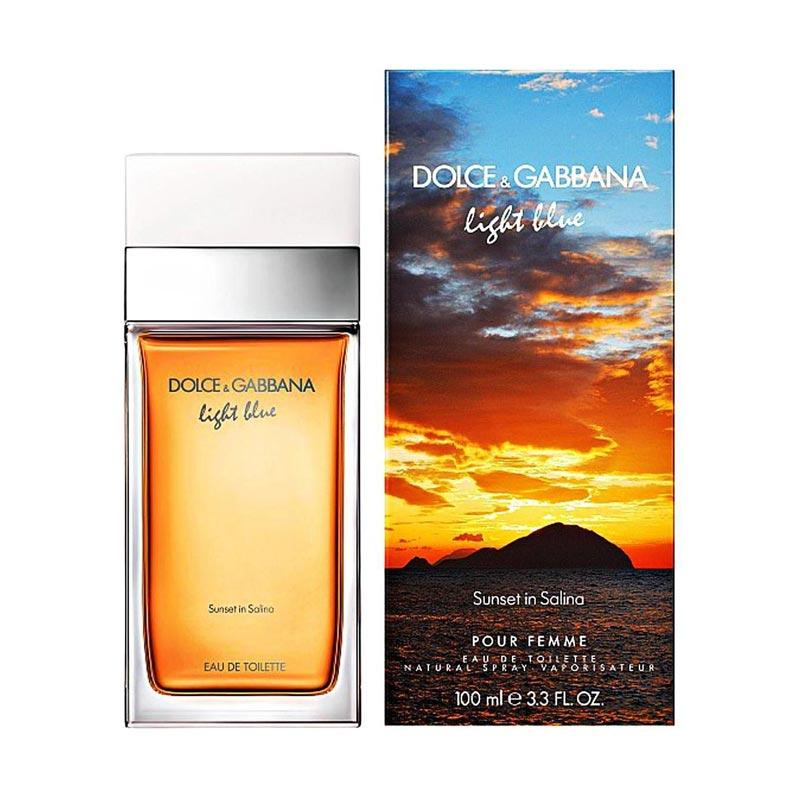 Dolce and Gabbana Light Blue Sunset In Salina for Women