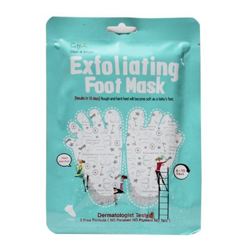Cettua C&S Exfoliating Foot Mask