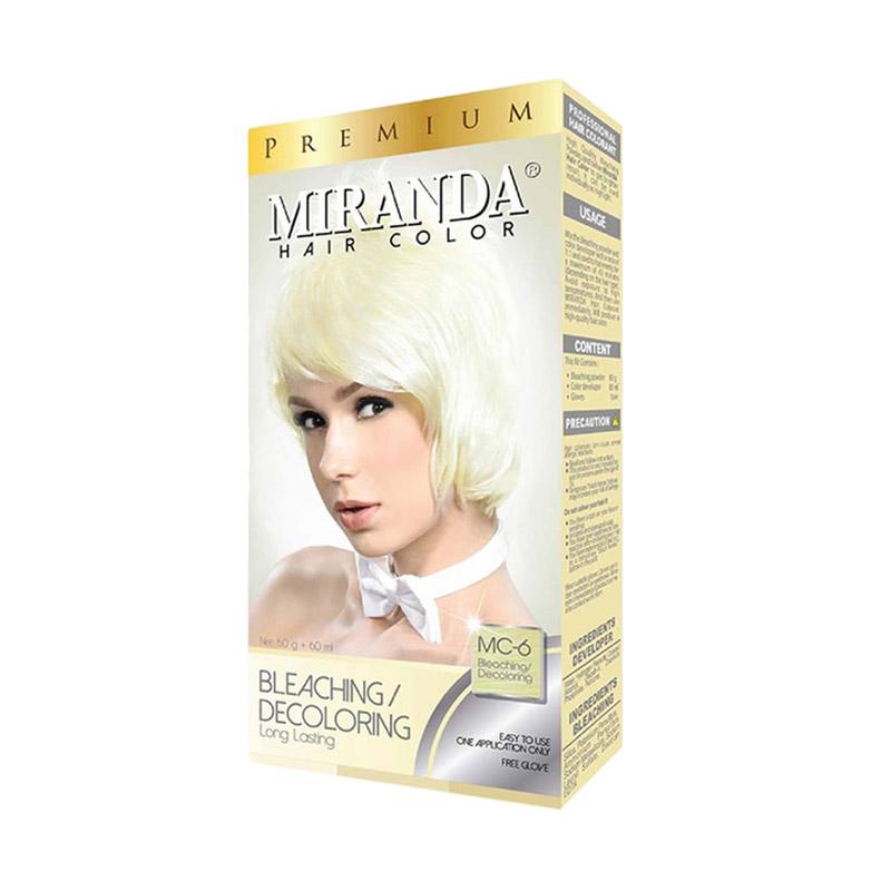 Miranda Hair Color Premium Bleaching Decoloring