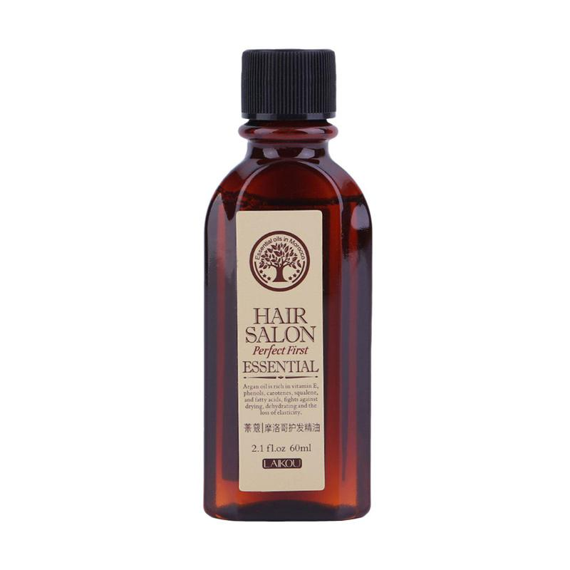 Laikou FS Essential Multifunctional Hair Care Moroccan Pure Argan Oil for Dry Hair