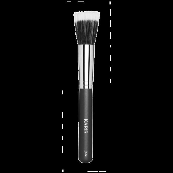 Karis Cosmetics 302 Duo Fiber Stippling Brush