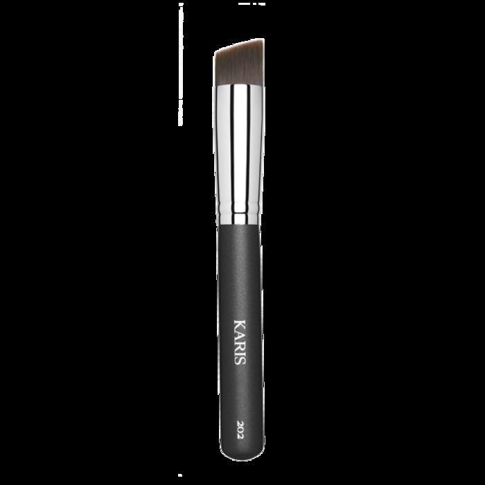 Karis Cosmetics 202 Angled Buffing Brush