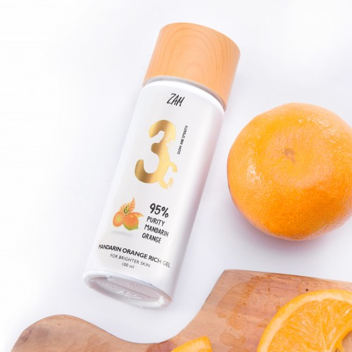 Zam Mandarin Orange Rich Gel (For Brighter Skin)