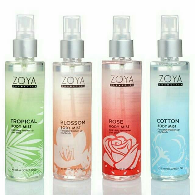 Zoya Cosmetics Body Mist