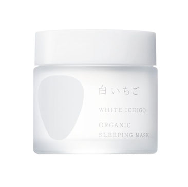 WHITE ICHIGO Organic Sleeping Mask