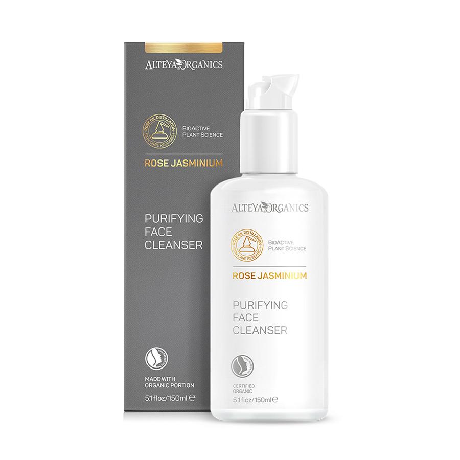 ALTEYA ORGANICS Purifying Face Cleanser – Rose Jasminium