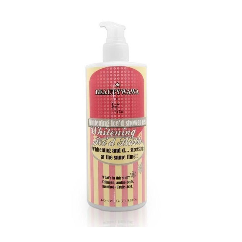 Kji n Co Whitening Ice'd Bath Shower Gel