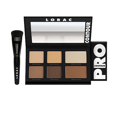 Lorac Pro Contour Palette With Contour Brush