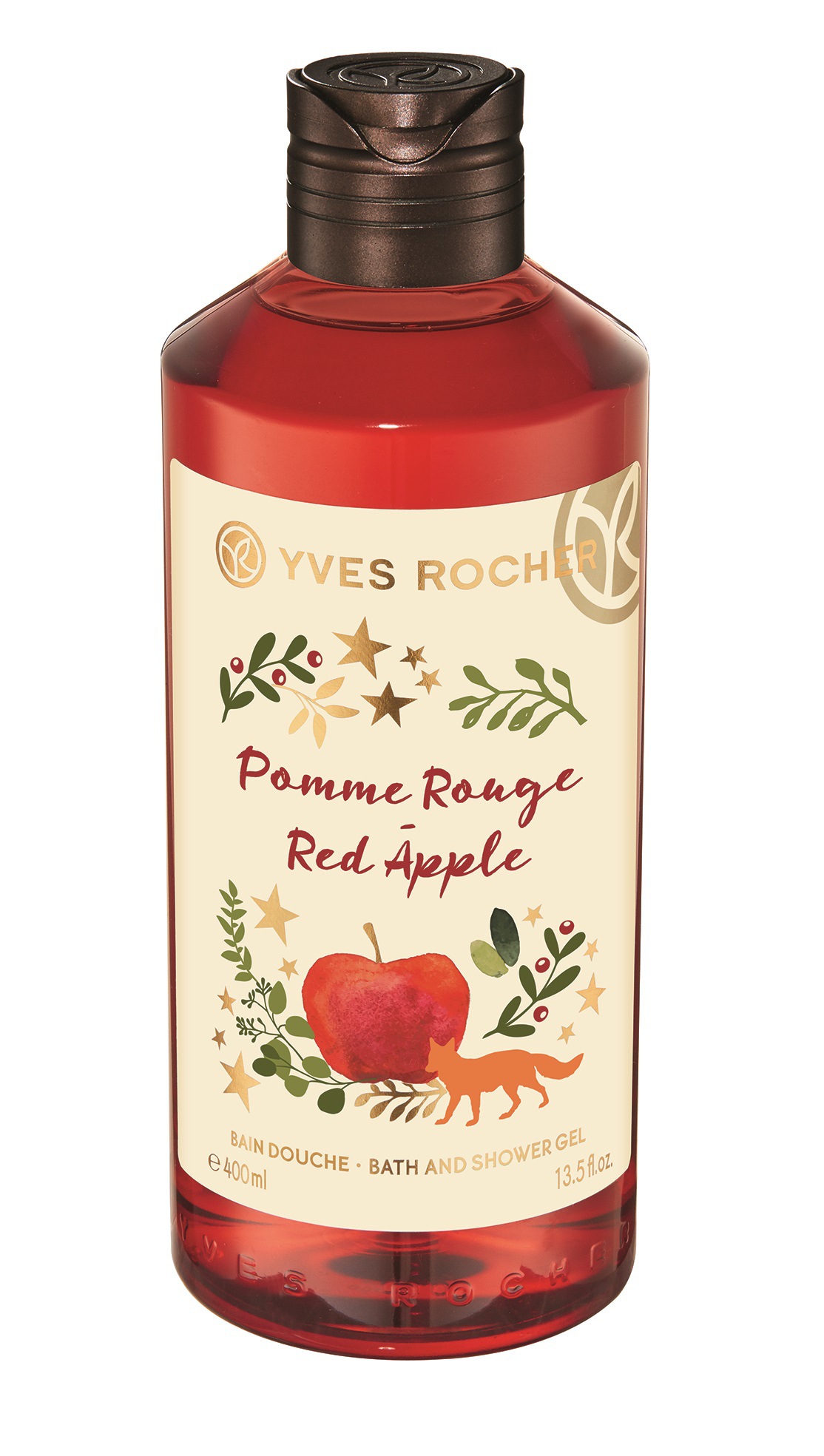 Yves Rocher Christmas Edition Red Apple Shower Gel