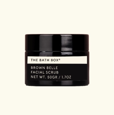 The Bath Box Brown Belle Facial Scrub