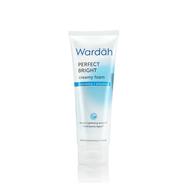 Wardah Perfect Bright Creamy Foam Brightening Smoothing