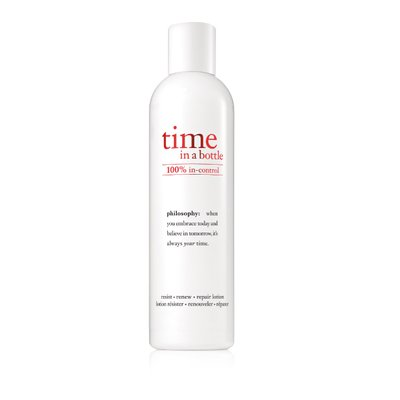 philosophy time in a bottle lotion 240ml