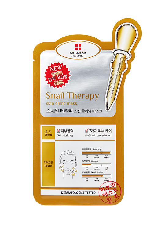 Leaders INSOLUTION SKIN CLINIC SNAIL THERAPY MASK