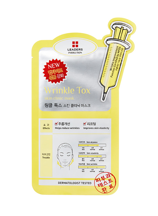 Leaders INSOLUTION SKIN CLINIC WRINKLETOX MASK