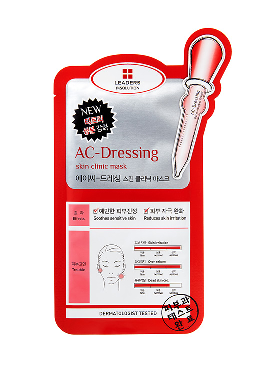 Leaders INSOLUTION SKIN CLINIC AC-DRESSING MASK