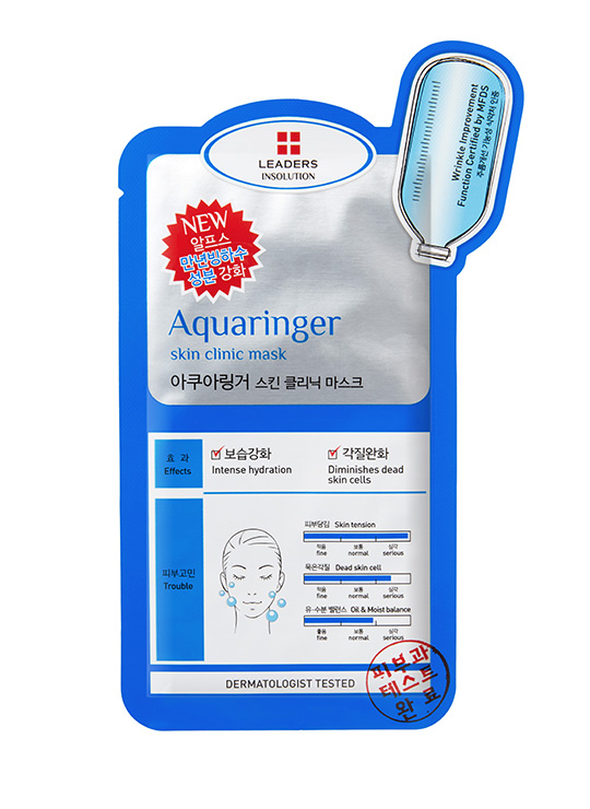 Leaders INSOLUTION SKIN CLINIC AQURINGER MASK