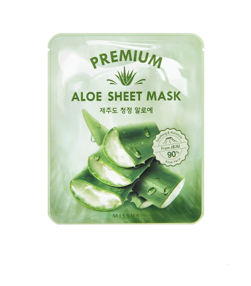 MISSHA MISSHA Premium Aloe Sheet Mask (5pcs)