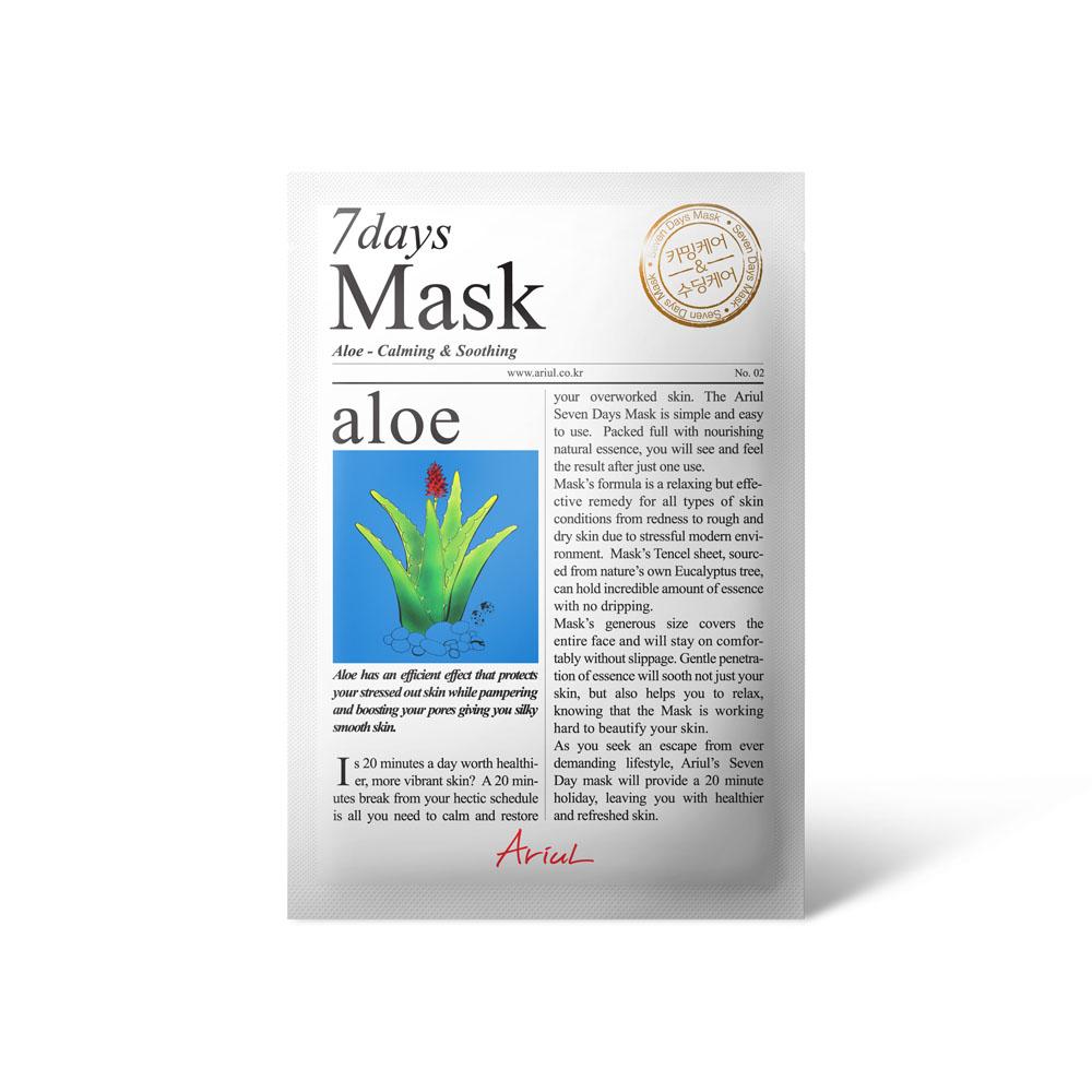 Ariul Seven Days Mask - Aloe