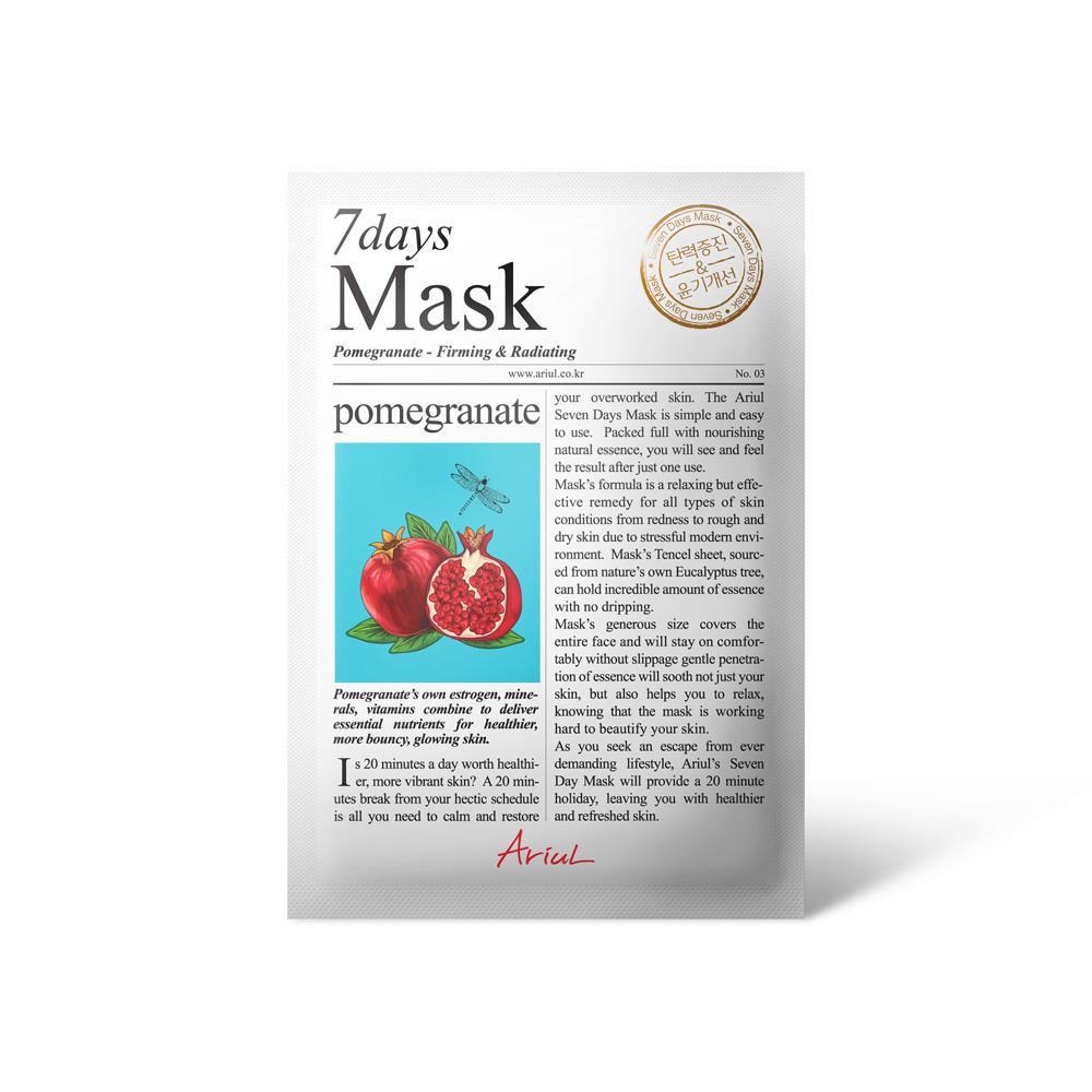 Ariul Seven Days Mask - Pomegranate