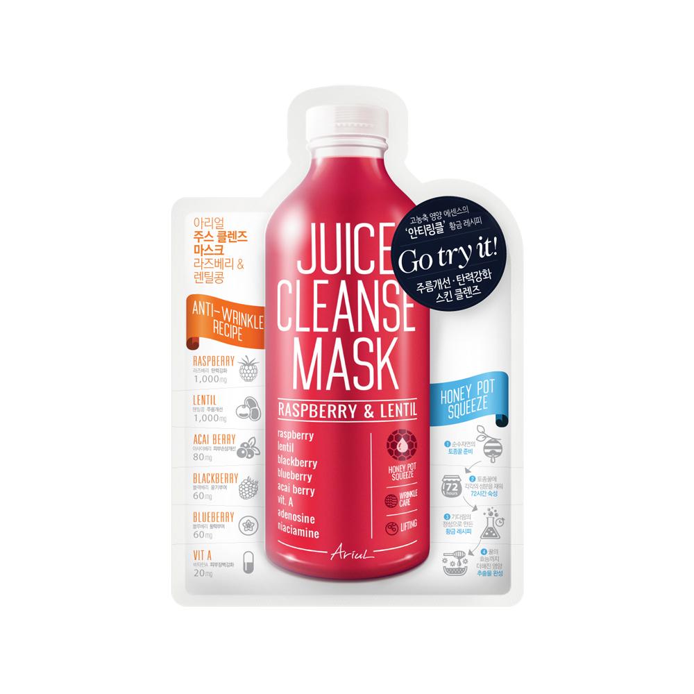 Ariul Juice Cleanse Mask - Raspberry & Lentil