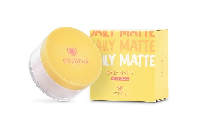 Review Emina Daily Matte Loose Powder Soco By Sociolla