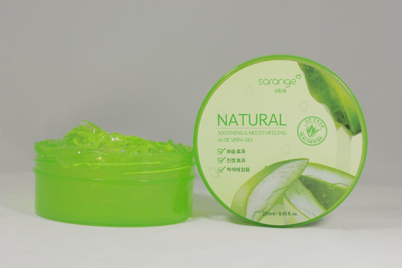 Sarange Natural Soothing and Moisturizing Aloe Vera Gel