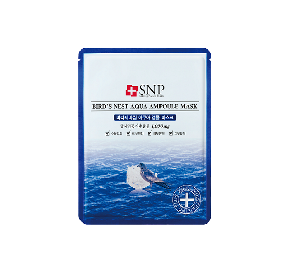 SNP Bird's Nest Aqua Ampoule Mask