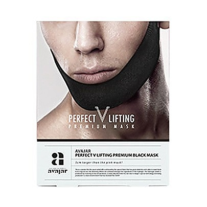 AVAJAR Perfect V Lifting Premium Black Mask