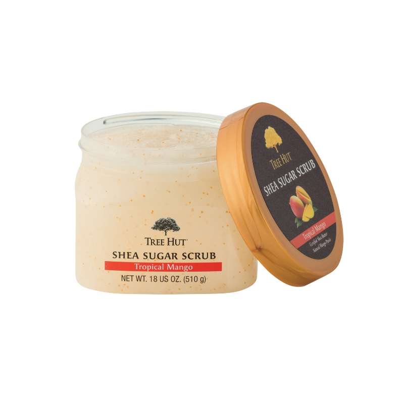 Tree Hut Tropical Mango - shea sugar scrub
