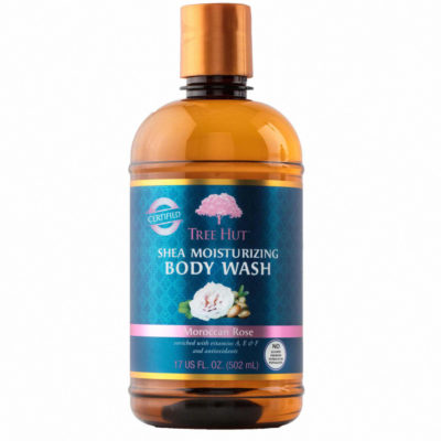 Tree Hut Moroccan Rose - shea body wash